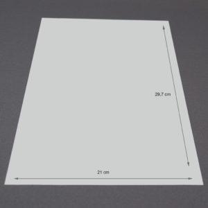 Briefbogen – Exklusiv  Zeta Leinen mit WZ
