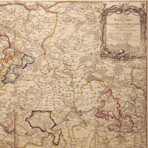 Düntzfeldt-Karte von 1772